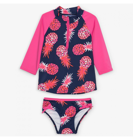 Hatley Party Pineapples Rashguard Set Sizes: 2, 3