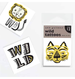 Wee Gallery Temporary Tattoos - Wild