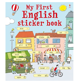 Usborne My First English Sticker Book