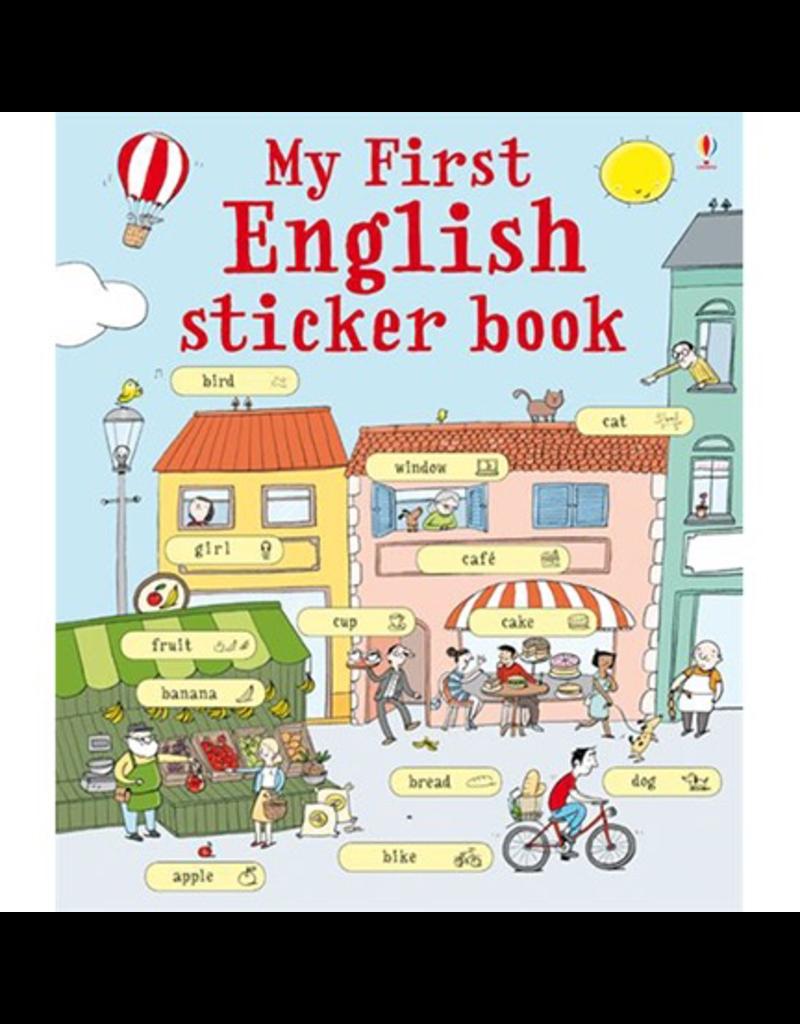 Usborne My First English Sticker Book