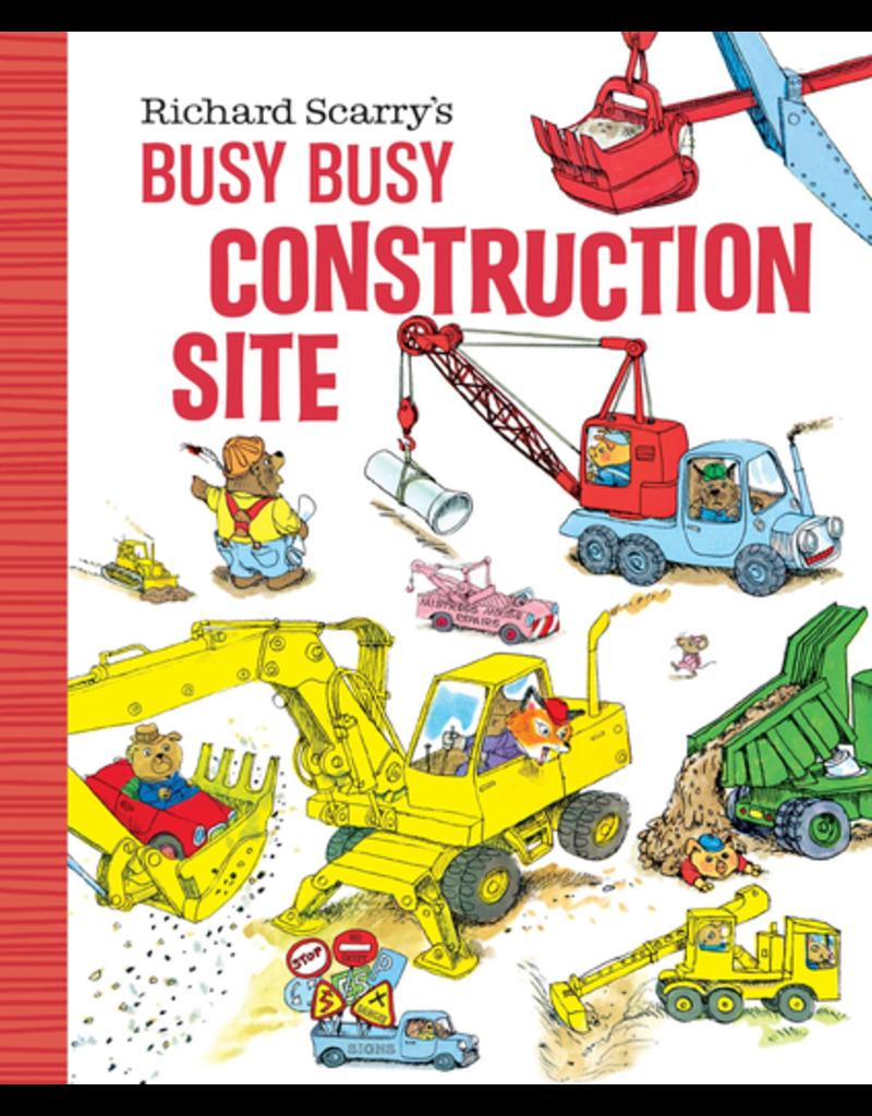 Random House Richard Scarry's Busy Busy Construction Site Board Book