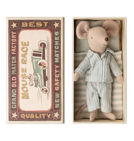 Maileg Mouse in Box - Big Brother (PJs)