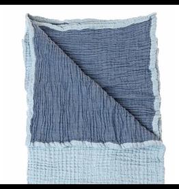Beba Bean Coco Muslin Blanket Blue