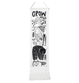 Wee Gallery Organic Canvas Growth Chart - Nordic
