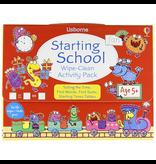 Usborne Starting School Wipe-Clean Activity Pack