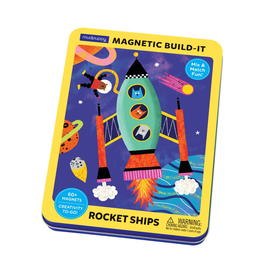 Mudpuppy Rocket Ships Magnetic Build-it