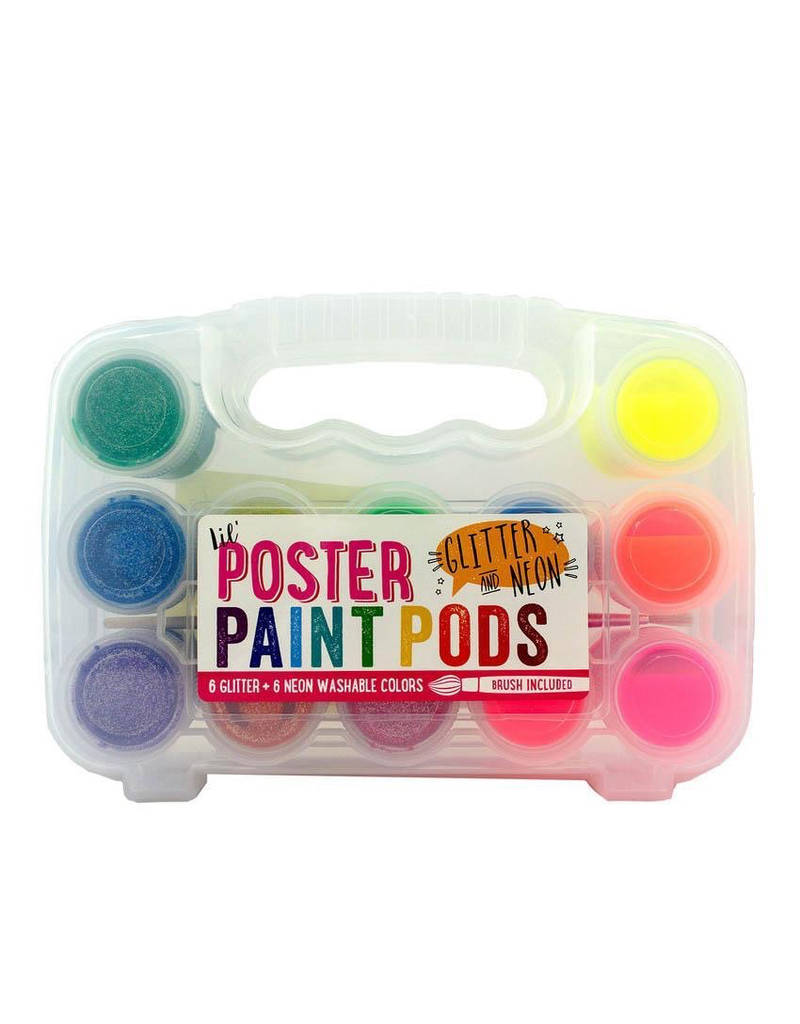 Ooly Neon & Glitter Poster Paint Pods