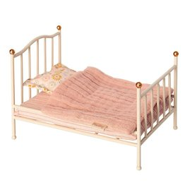 Maileg Mouse Vintage Bed, Off White