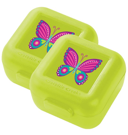 Crocodile Creek Snack Keeper 2pk - Butterfly