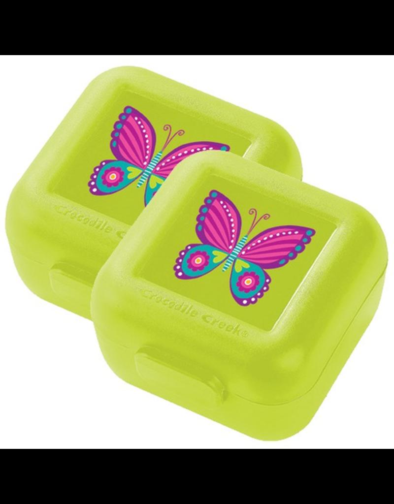 Crocodile Creek Snack Keeper 2pk - Butterfly
