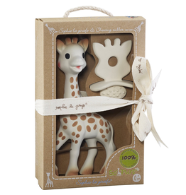 Sophie the Giraffe and SoPure Chewing Rubber