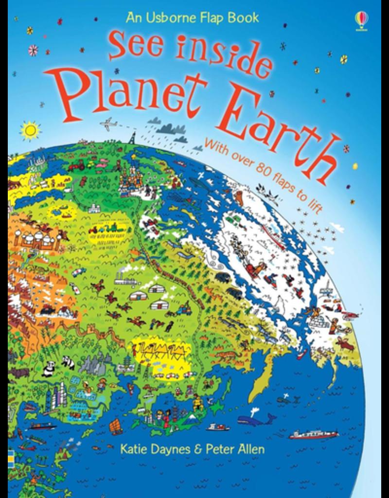 Usborne See Inside Planet Earth