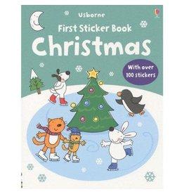 Usborne Christmas First Sticker Book