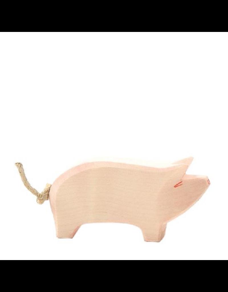 Ostheimer Wooden Toys Pig Head High