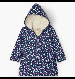Hatley Confetti Hearts Sherpa Splash Jacket