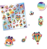 Djeco Stickers 30pk - Lovely Rainbow