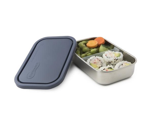25oz 740ml Divided Rectangle Container, Ocean