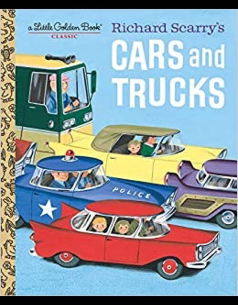 Random House Golden Book: Richard Scarry's Cars and Trucks