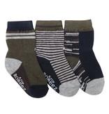 Boy's Sock 3pk - Athletic Heather