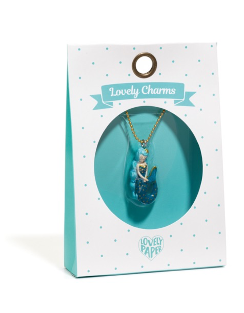 Djeco Lovely Charms Necklace - Mermaid