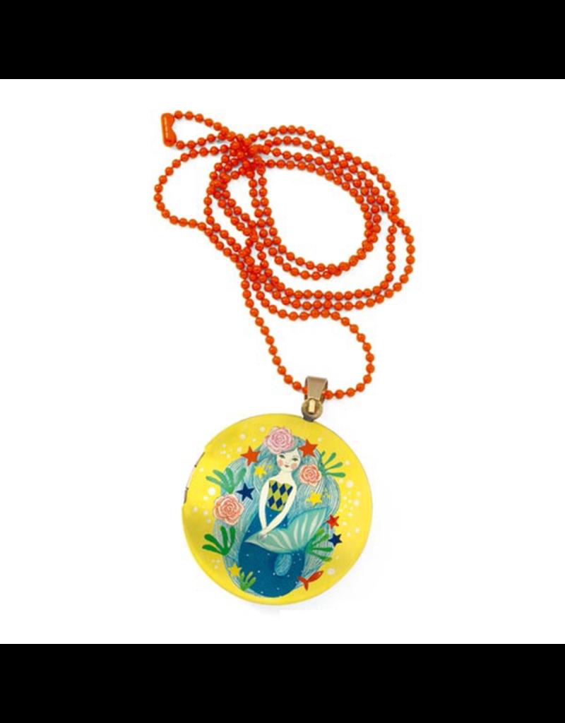Djeco Lovely Surprise Locket Necklace - Mermaid