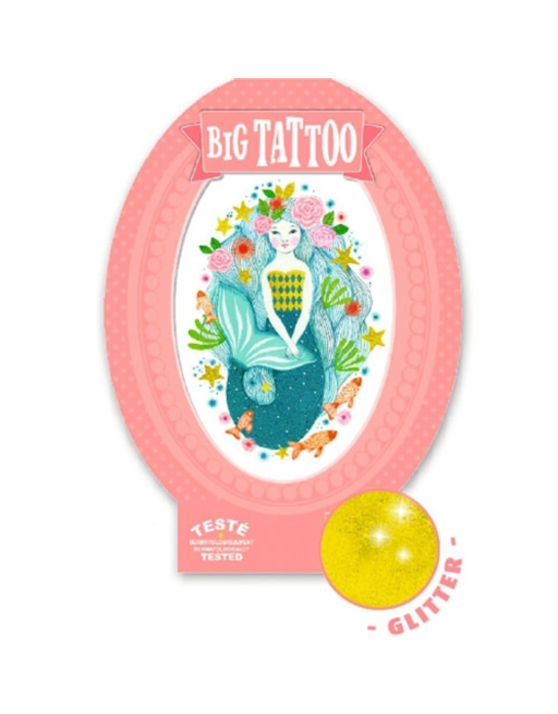 Djeco Aqua Mermaid - Big Tattoo