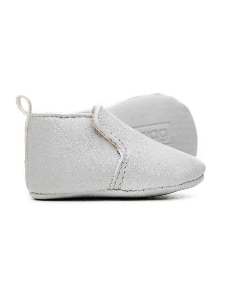 Dove Grey Loafer Mox