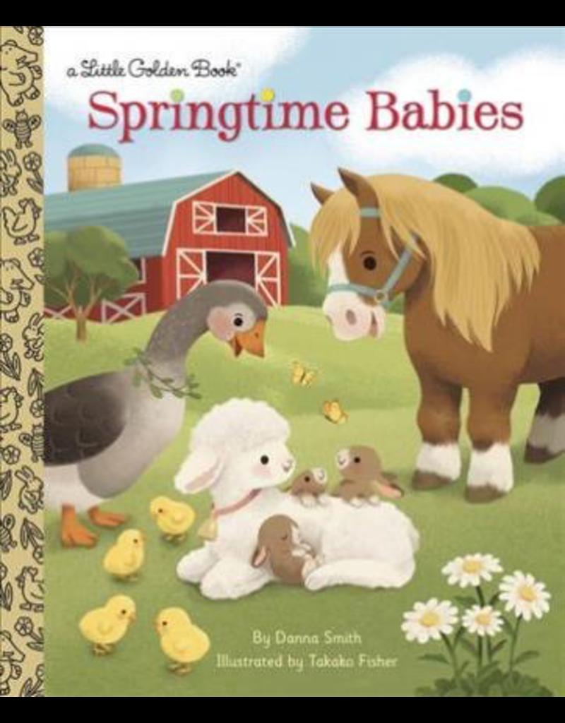 Random House Golden Books: Springtime Babies
