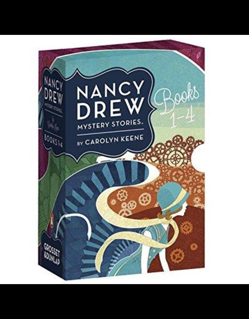 Random House Nancy Drew Books 1-4