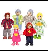 Hape Toys Happy Family - Caucasian