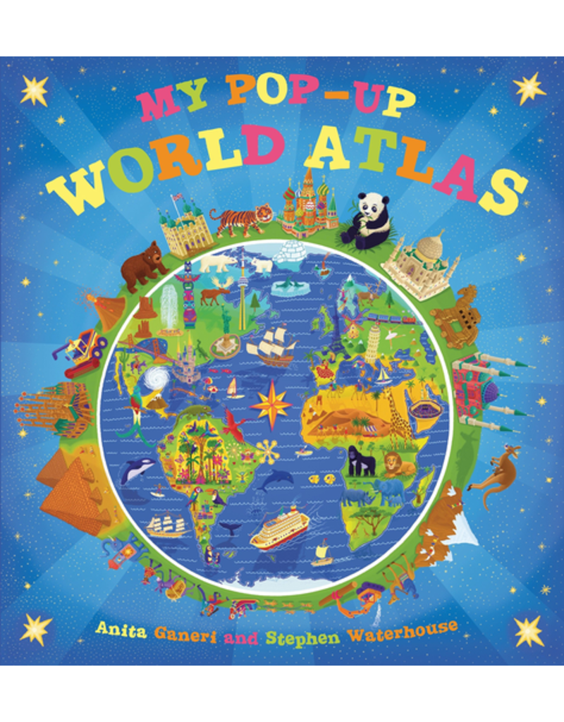 Random House My Pop-Up World Atlas