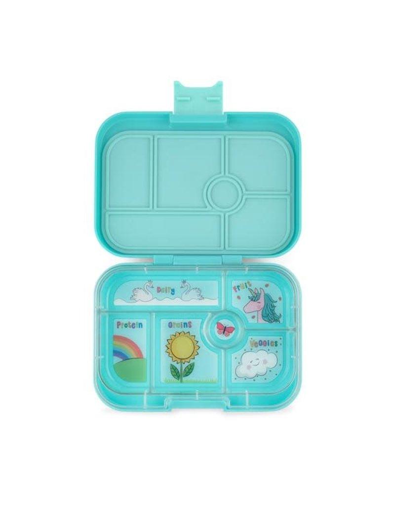 Original - 6 Compartment Misty Aqua