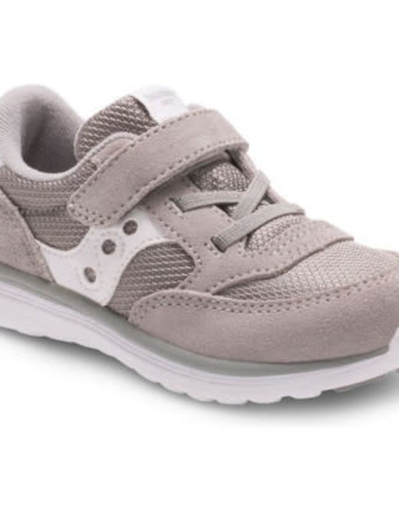 Saucony Grey/White Baby Jazz Lite