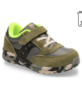 Saucony Olive Camo Baby Jazz Lite Sizes 4, 5