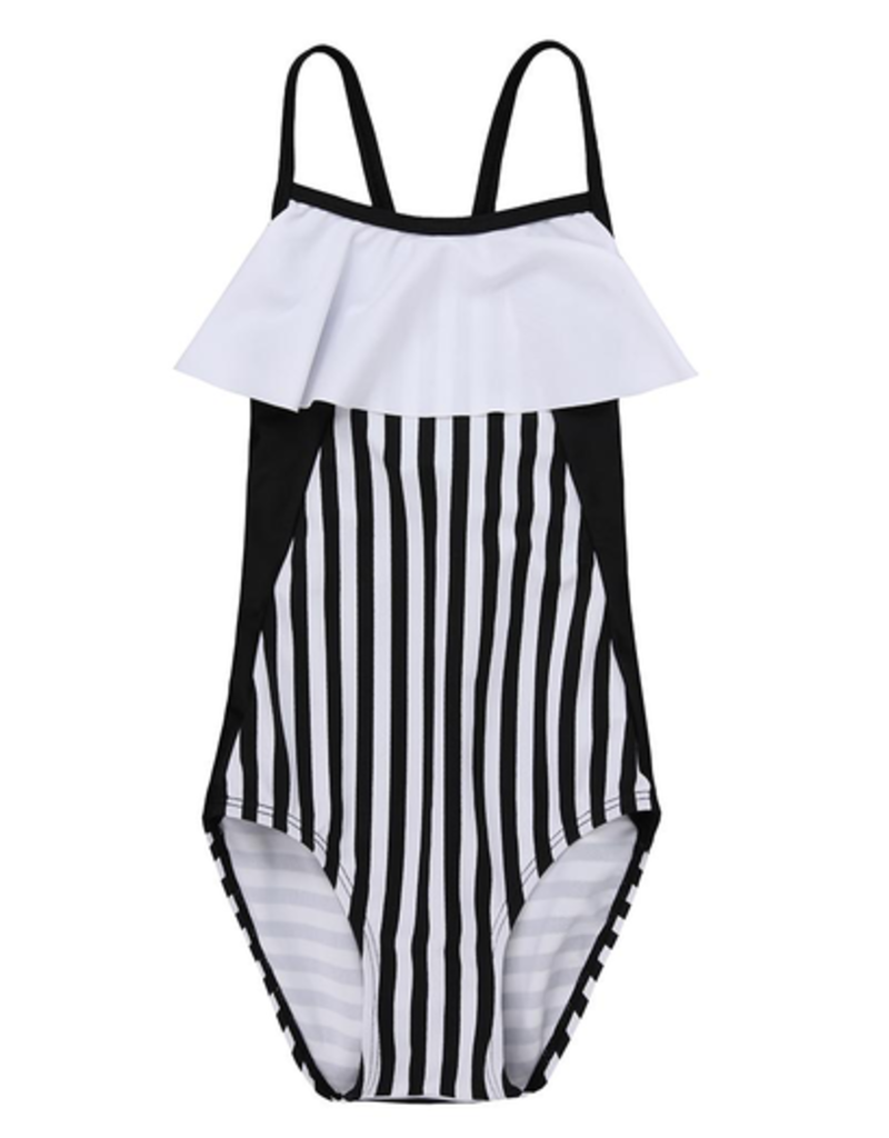 Turtledove London Colourblock Swimsuit