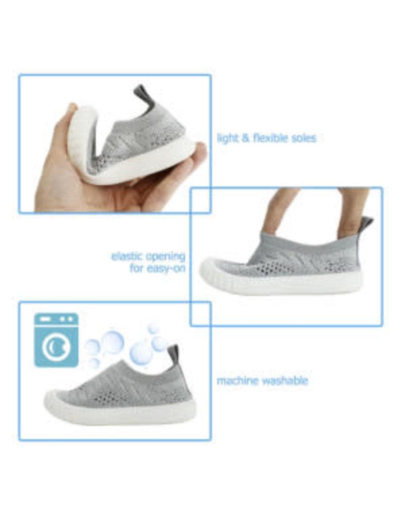 Jan & Jul Grey Breeze Knit Shoe