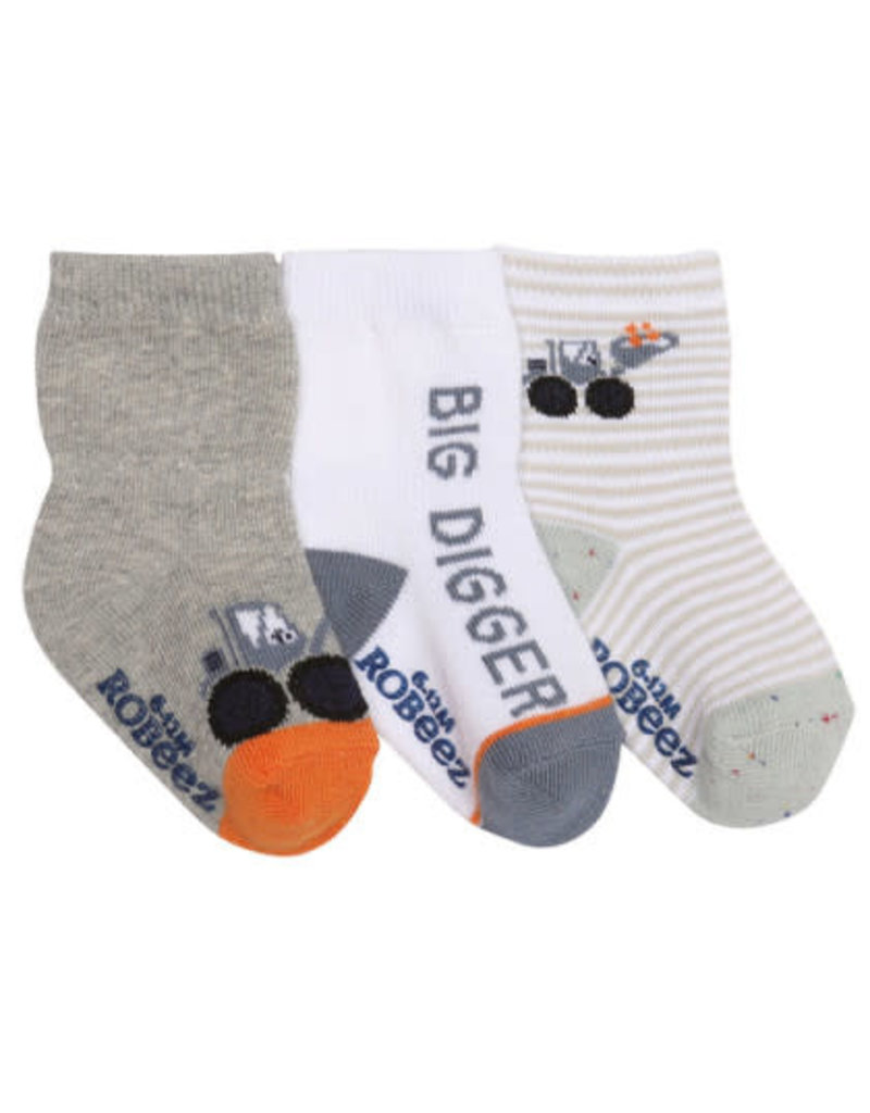 Big Digger Boy's Sock 3pk