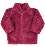 Rose Fleece Zipper Jacket