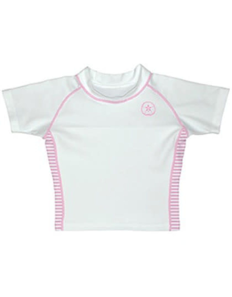 Pink iPlay Short Sleeved Rashguard
