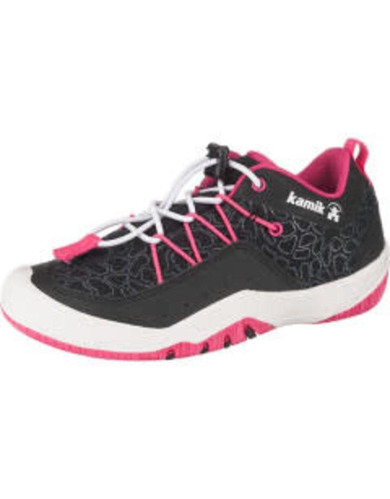 Kamik Charcoal/Pink Fundy Trainers