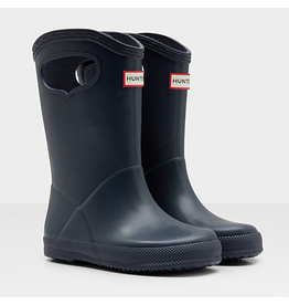 Hunter Boots Navy Kids First Classic Pull-On Boots