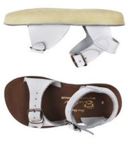 Salt Water Sandals Salt Water Surfer Sandals - White