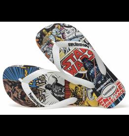 Black Star Wars Havaianas Sandals Size 9