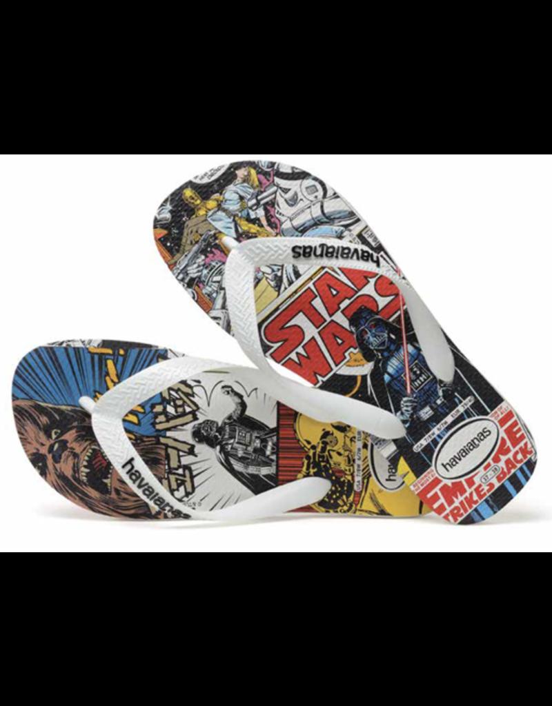 Black Star Wars Havaianas Sandals