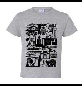 True North Vancity Icons T-Shirt - Heather