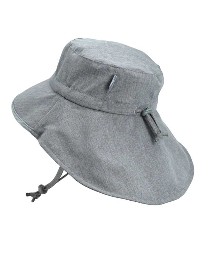 Jan & Jul Grey UV Adventure Grow-With-Me Hat