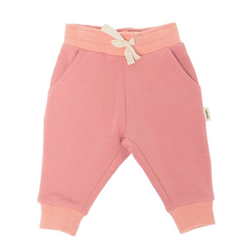 Pink Bamboo Fleece Sweatpant 3T