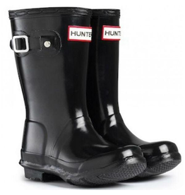 Hunter Boots Black Original Tour Gloss Hunter Boots