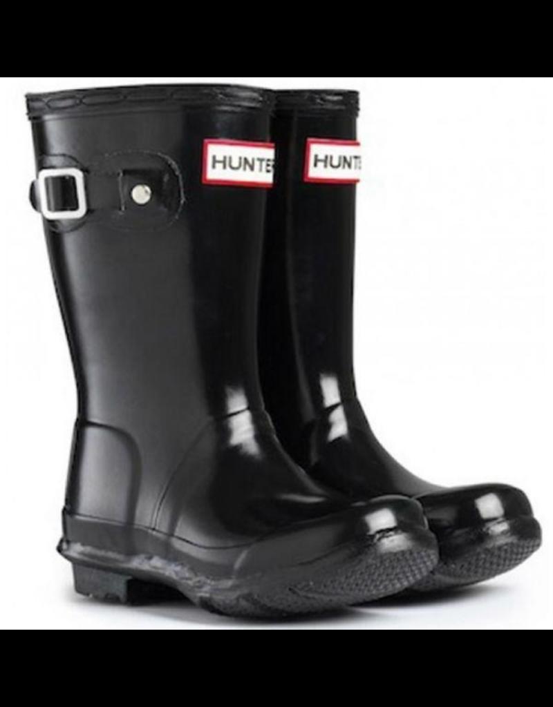 Hunter Boots Black Original Tour Gloss Hunter Boots