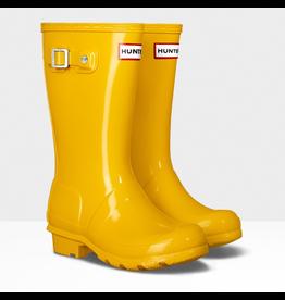 Hunter Boots Yellow Original Tour Gloss Hunter Boots